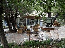 prescott pines bed and breakfast patio