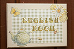 English room sign