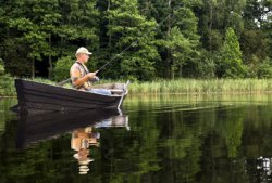 Fishing on Flathead Lake