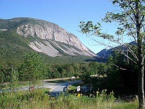 Franconia Notch by BIYM at the English language Wikipedia