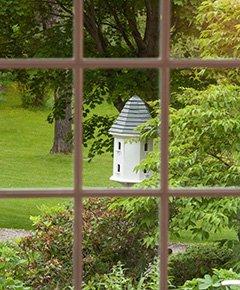 Window View at Garden Gables Inn in Lenox, MA