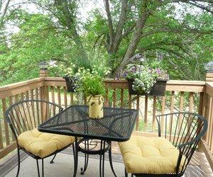 Porch Seating Area at Bella Teresina