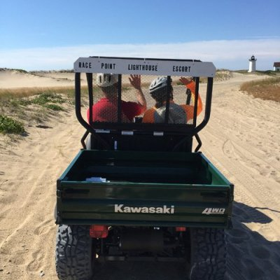 Kawasaki Mule headed to Race Point Light