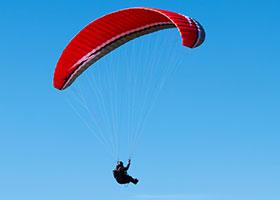 Paragliding Near The North Shore Inn near San Bernardino, CA
