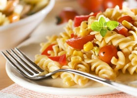 pasta salad Near The North Shore Inn in Crestline, California