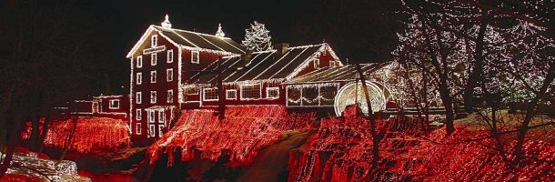 Christmas Time at Historic Clifton Mill Near Hearthstone Inn & Suites