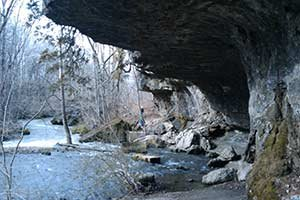 indian mound cave