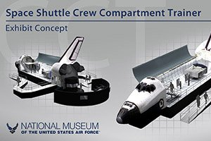 Space Shuttle exhibit in Dayton, Ohio
