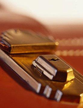 Business Brief Case lock