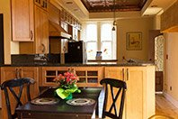 Penthouse Condo Thorwood Rentals and Retreats kitchen