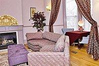 Lumber Baron Condo sitting room at Thorwood Rentals and Retreats in Hastings Minnesota
