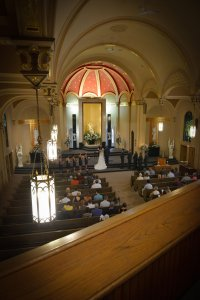 Chapel of the Archangels wedding