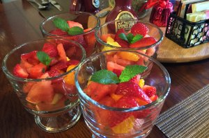 Cups of Fruit