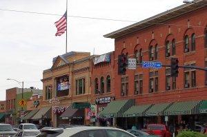 Local brick building in Prescott Arizona