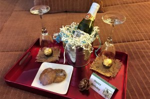 Anniversary Package with Wine