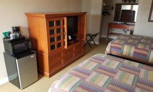 furnishings in double queen deluxe