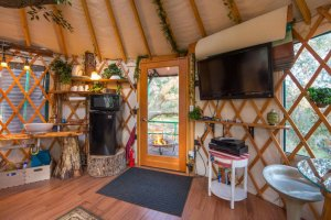 tv in treehouse