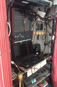 sound booth sound board