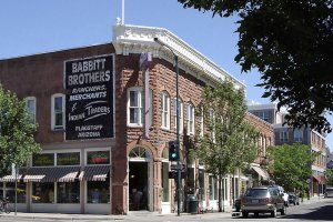 Babbit Brothers corner store