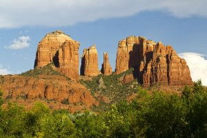 natural rock formation columns