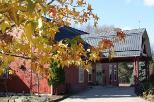 The Barn Inn during the Fall