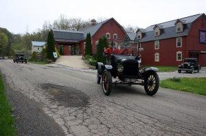 Model T Ford at the Barn Inn