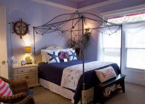 Hines Mansion Seaside Retreat Room bed