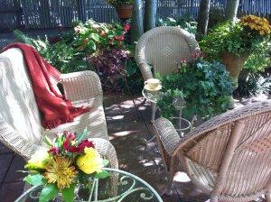 Fall Garden at Rosemont farmhouse