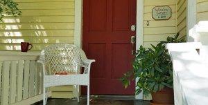 Winslow Cottage Front Porch