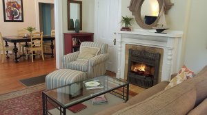 Barkley Cottage living room off dining room