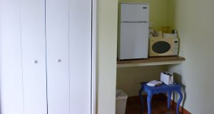 fridge and closet