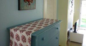 nightstand and decor
