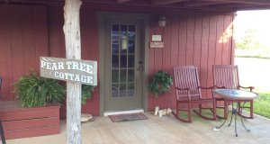 Front entrance of pear tree cottage