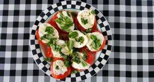 A tomato dish