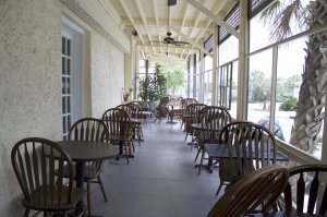 Outdoor Restaurant Porch