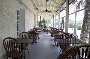 Outdoor Restaurant Porch