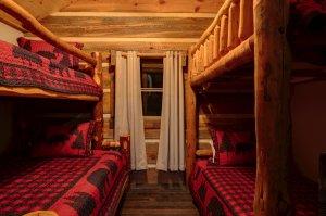 Kemp Cabin Living Room