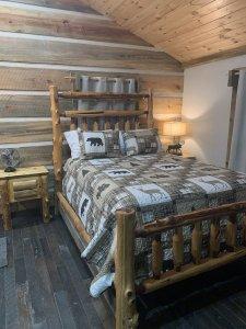Kemp Cabin Master Bedroom