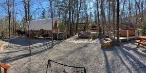 Covered Wagon Area