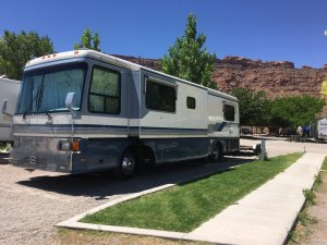 Moab Rim Campark RV Sites RV