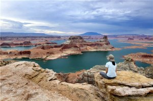 view from Alstrom Point of  Lake Powell