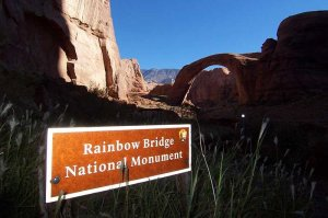 View of Rainbow Bridge National Monument
