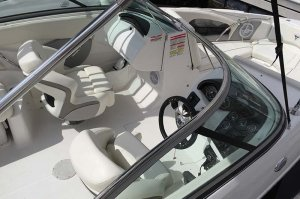 view of drivers seat