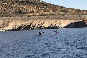 kayak lake powell