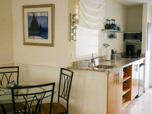 Hotel Seacrest Ocean Room kitchen table
