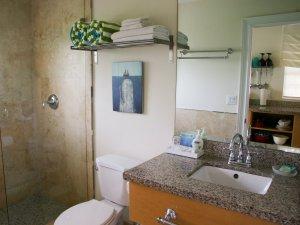 Hotel Seacrest Ocean Room bathroom