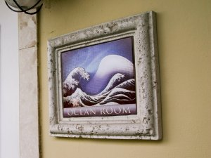 Hotel Seacrest Ocean Room framed picture