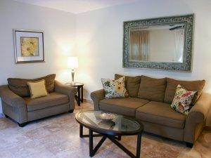 Hotel Seacrest Matilda Room couches