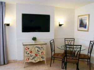 Hotel Seacrest Ocean Room tv dresser table
