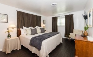 The Master bedroom from the corner